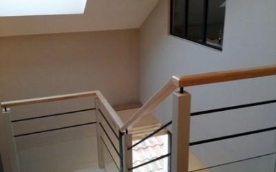 Cage escalier d'un appartement