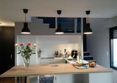 Peinture cuisine – Appartement – Nantes