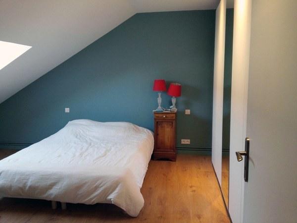 Peinture chambre – Appartement – Quai de Versailles à Nantes