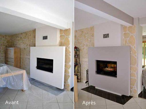 portfolio peintre d corateur homecolor. Black Bedroom Furniture Sets. Home Design Ideas